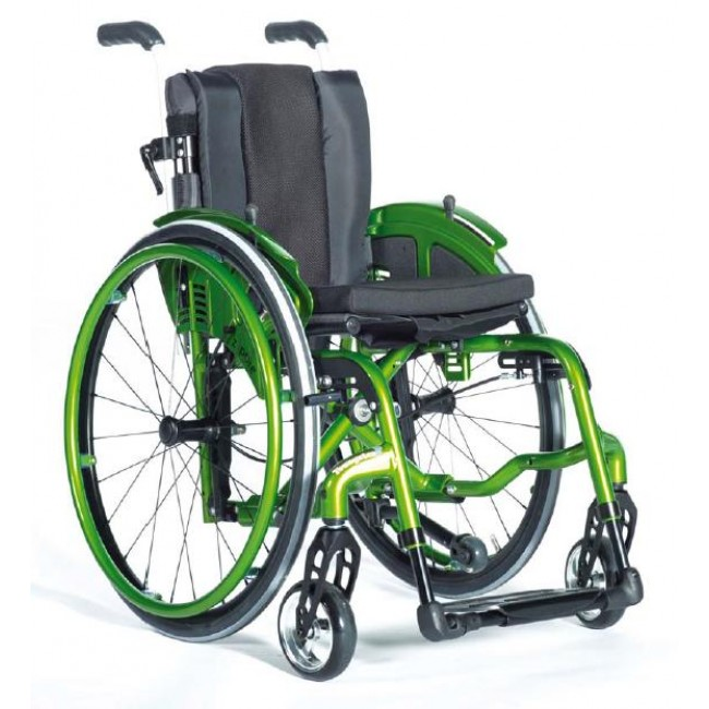Zippie youngster 3 vip silla de ruedas infantil de aluminio plegable autopropulsable ortoweb - Silla ruedas plegable ...