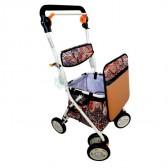 Andador carro de la compra con asiento
