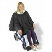 Capa termorreguladora impermeable para silla de ruedas
