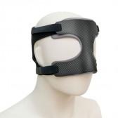 Máscara de protección facial deportiva en carbono