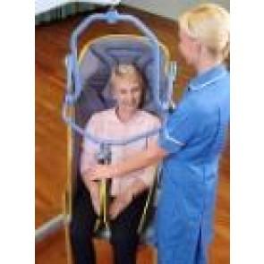 Arnés profesional confort para percha de 4 puntos de enganche (poliester)