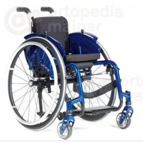 Silla de ruedas infantil de aluminio autopropulsable de estructura rígida Zippie Simba