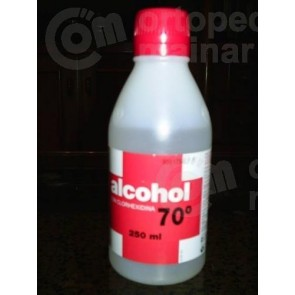 Alcohol de 70º botella 1l.