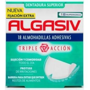 Algasiv 18 almohadillas adhesivas superior