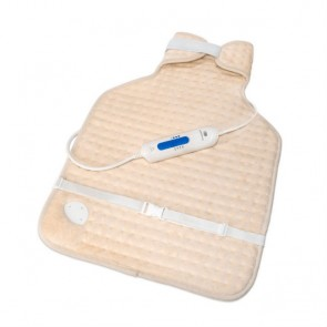 Almohadilla eléctrica cervical-dorsal 56x39cm. poliéster 100W 3 Temp. Pekatherm
