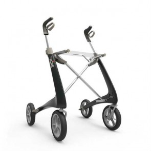 Andador rollator de carbono Carbon Ultralight - Negro