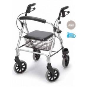 Andador rolator Ergo de aluminio