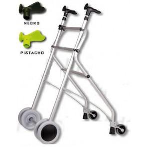 Andador de aluminio anatómico Rollatino con frenos de presión