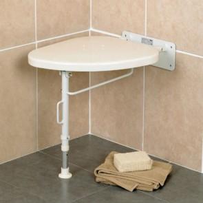Asiento Corner para ducha con patas