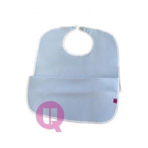 Babero para adultos impermeable de poliuretano cierre clip Duraflex