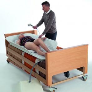 Bañera Jube para aseo sobre cama