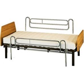Par de barandillas telescopicas de cama