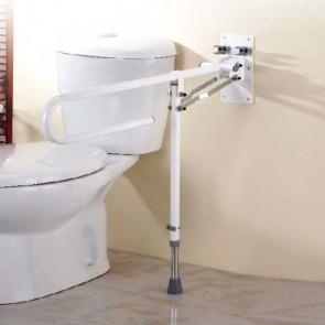Barra abatible de baño con pata 76 cm.