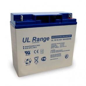 Batería AGM 12V 18A Ultracell UL18-12 - UNIDAD