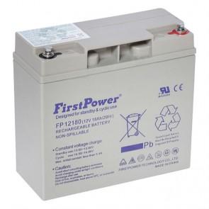 Batería gel 12V 18A FirstPower FP12180 - UNIDAD