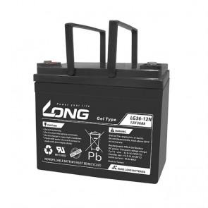 Batería gel 12V 36A Long LG36-12 - UNIDAD