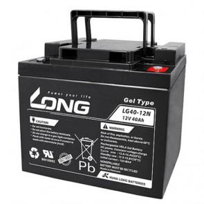 Batería gel 12V 40A Long LG40-12 - UNIDAD