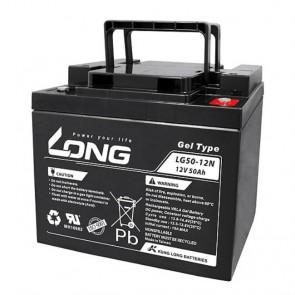 Batería gel 12V 50A Long LG50-12 - UNIDAD