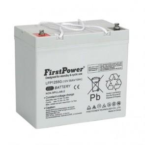 Batería gel 12V 55A FirstPower LFP1255G - UNIDAD