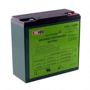 Batería 12V 21A (UNIDAD) Advanced Technology - 1 año de garantía