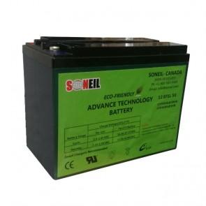 Baterías 12V 50A (par) Advanced Technology - 1 año de garantía