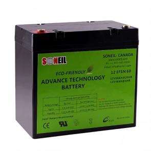 Baterías 12V 60A (par) Advanced Technology - 1 año de garantía