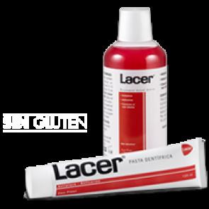 Colutorio y pasta Lacer (anticaries)