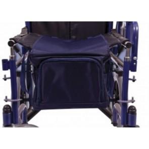 Bolsa bajo asiento desmontable para silla de ruedas