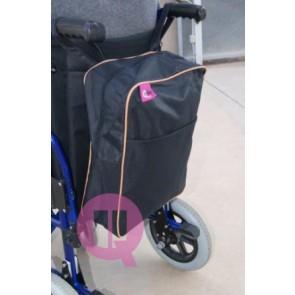 Bolsa auxiliar impermeable para silla de ruedas