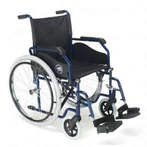 Breezy 90 - Silla de ruedas de acero plegable