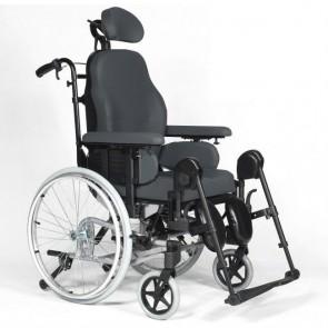 Breezy Relax 2 - Silla de ruedas de posicionamiento basculante y reclinable