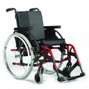 Breezy RubiX 2 - Silla de aluminio plegable multiajustable