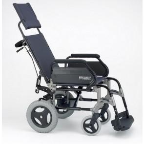 Silla de ruedas Breezy 300R no autopropulsable con respaldo reclinable