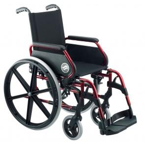 Silla Breezy 250 autopropulsable color rojo