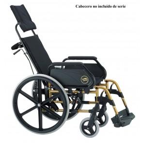 Silla de ruedas Breezy 250R autopropulsable y reclinable