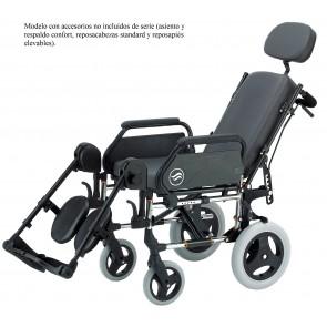 Silla de ruedas Breezy 250R con accesorios