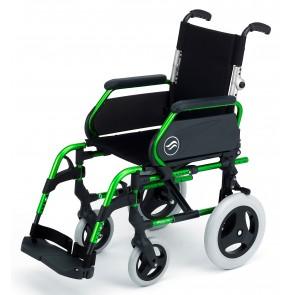 Silla de ruedas Breezy 300P no autopropulsable con respaldo partido