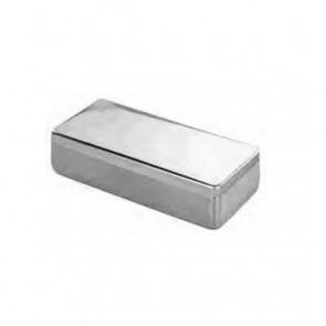 Caja con tapa para instrumental 200x100x60mm.