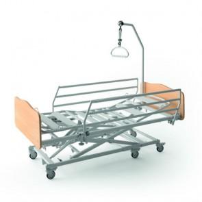 Cama articulada con carro elevador Winncare X'Press - Incluye cama articulada de 4 planos de 90x200cm. y carro elevador con ruedas.