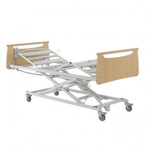 Cama articulada con carro elevador X'Prim 3 - Incluye cama articulada de 4 planos de 90x200cm. y carro elevador con ruedas.