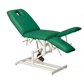 Camilla C165 de alevación electrica regulación manual de espalda y pies individualmente (188x62 cm.)