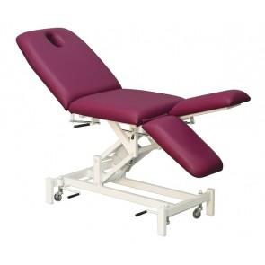 Camilla C510 de elevación eléctrica con regulación manual de espalda y piernas individualmente (187x62 cm.)