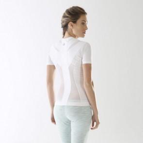 Camiseta postural Posture Shirt Core blanco mujer