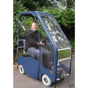 Capota impermeable para scooter standard azul