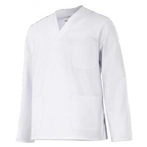 Casaca manga larga blanca