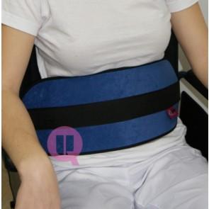 Cinturón de sujeción abdominal acolchado con cierre ironclip