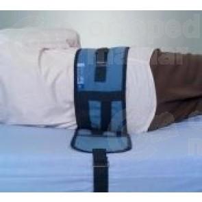 Cinturón doble de sujeción a cama con cierre clip