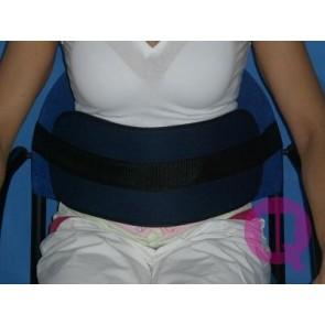 Cinturón de sujeción abdominal acolchado