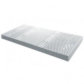 Geria Latex - Colchón de látex 100% con funda de poliuretano impermeable e ignífuga
