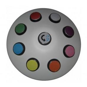 Controlador inalámbrcio 8 colores